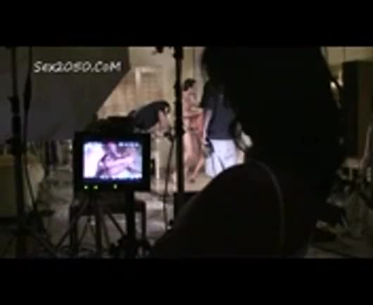 Sunny leone Behind The Scenes6